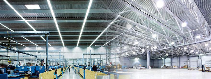 Đèn LED công nghiệp và tiêu chuẩn chiếu sáng