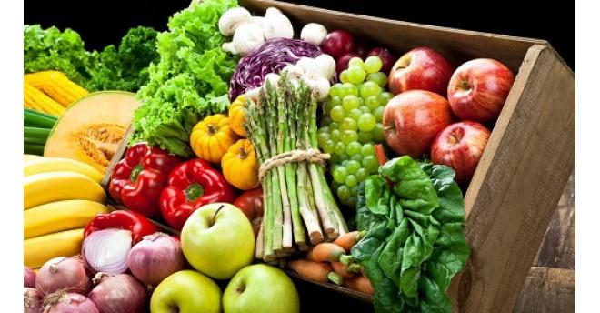 rau củ quả - màu sắc giúp ta lựa chọn thức ăn tốt hơn
